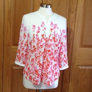 TALBOTS - Banded Collar Popover - NWT